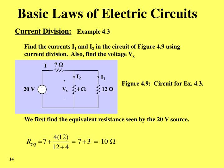 Basic Laws of Electric Circuits