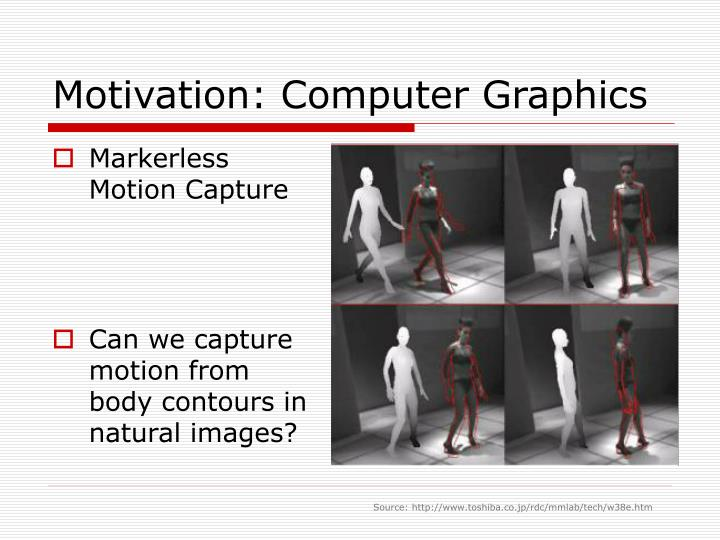 Motivation: Computer Graphics