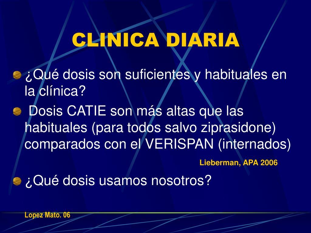 CLINICA DIARIA