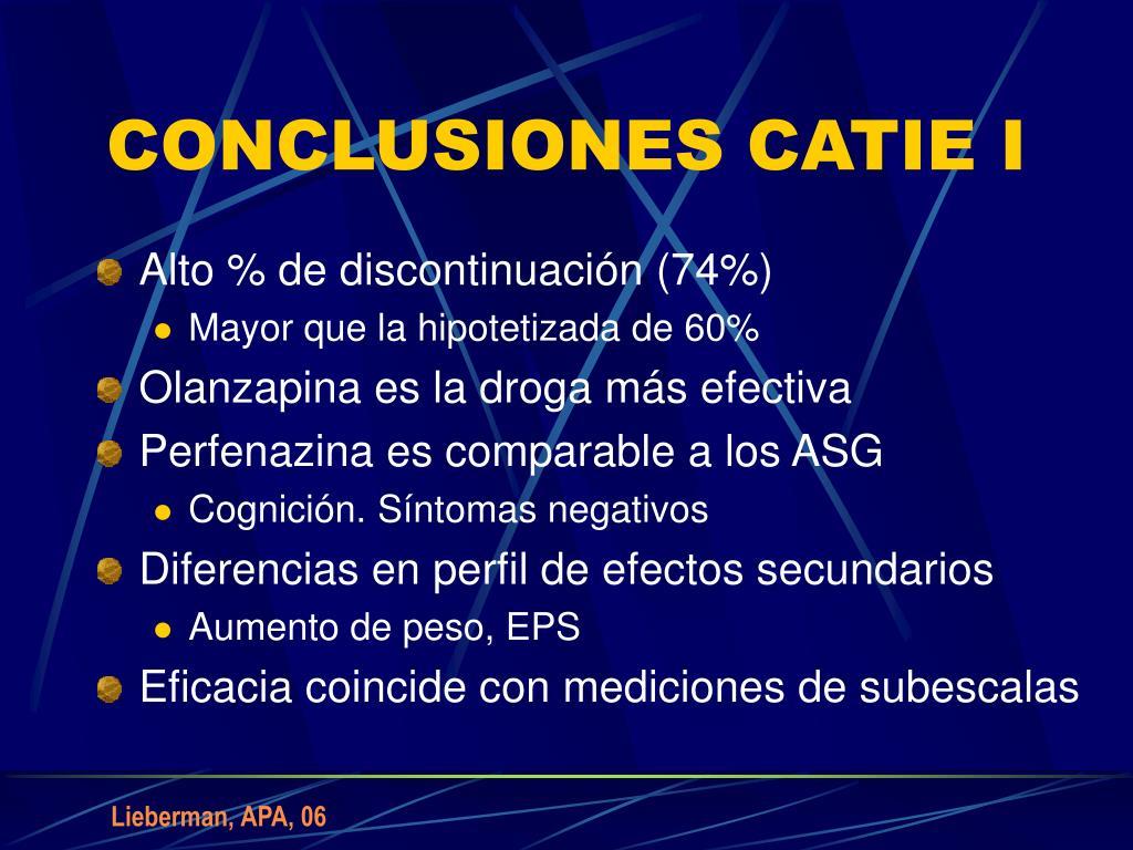 CONCLUSIONES CATIE I