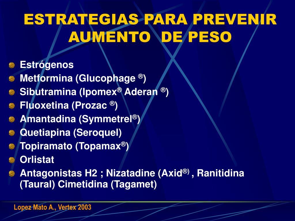 ESTRATEGIAS PARA PREVENIR AUMENTO  DE PESO