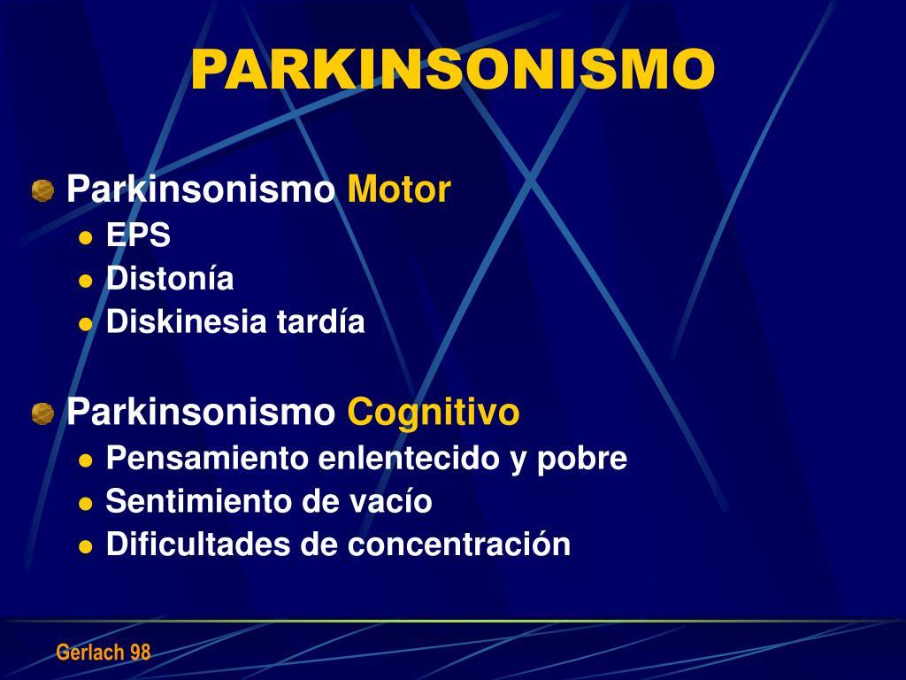 PARKINSONISMO