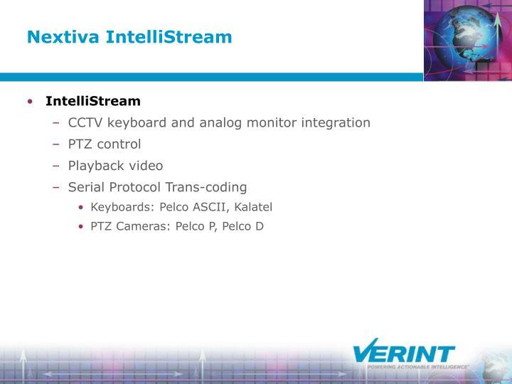 Nextiva IntelliStream