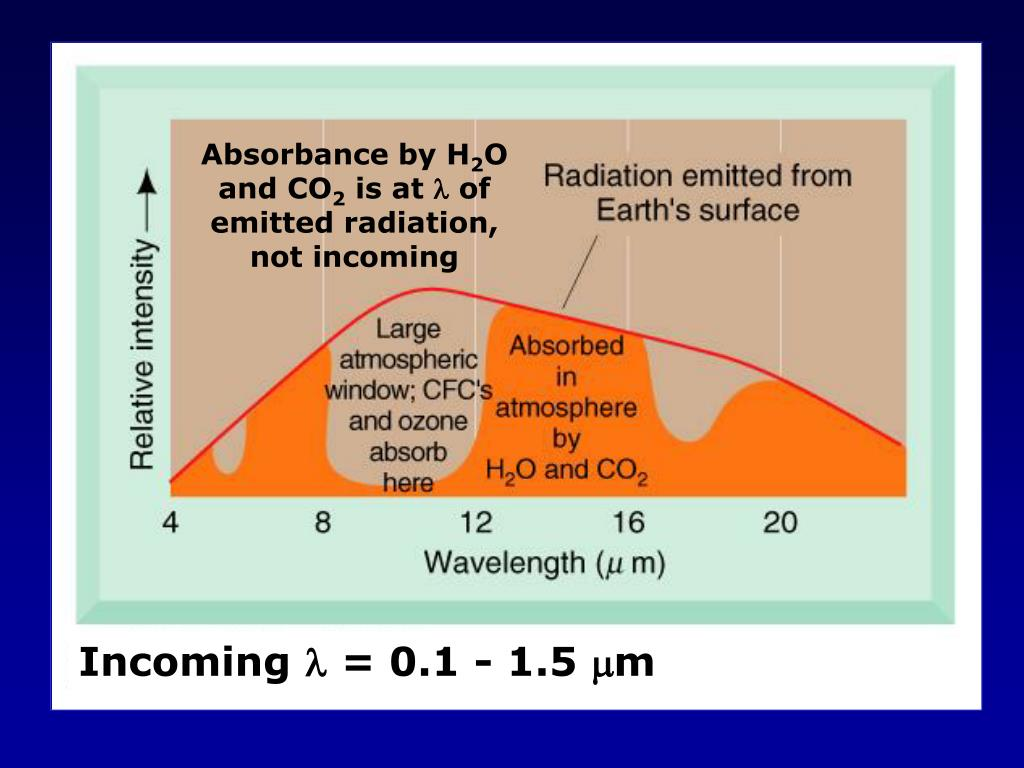 Absorbance by H