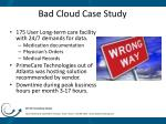 bad cloud case study