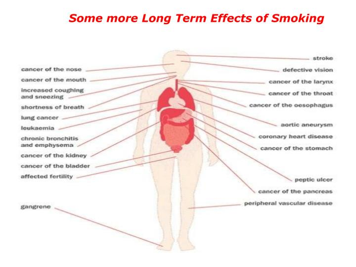 Some more Long Term Effects of Smoking