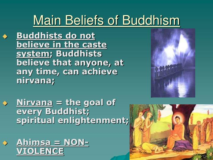 Main Beliefs of Buddhism