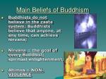 main beliefs of buddhism3