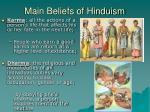 main beliefs of hinduism1