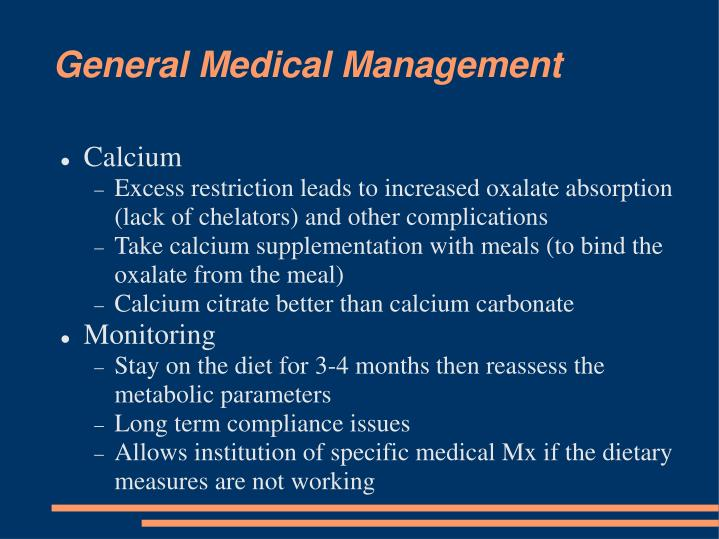 General Medical Management