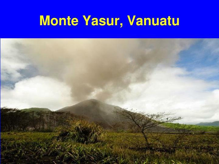 Monte Yasur, Vanuatu
