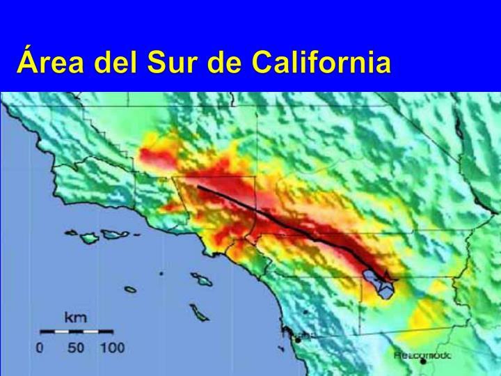 Área del Sur de California