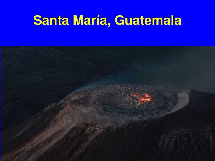 Santa María, Guatemala