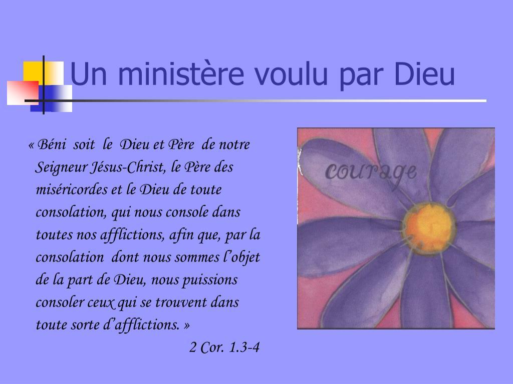 «Béni  soit  le  Dieu et Père  de notre
