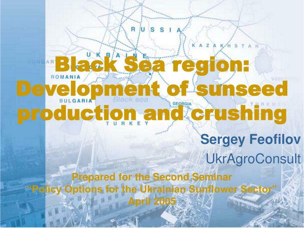 Black Sea region: