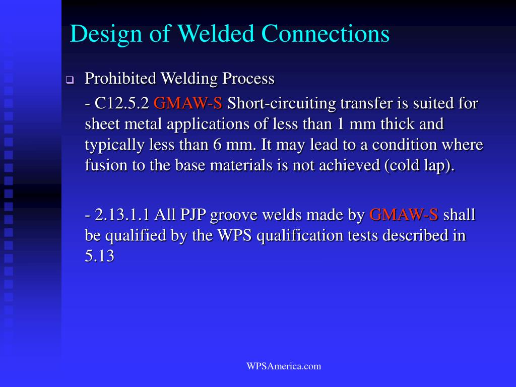 Design of Welded Connections