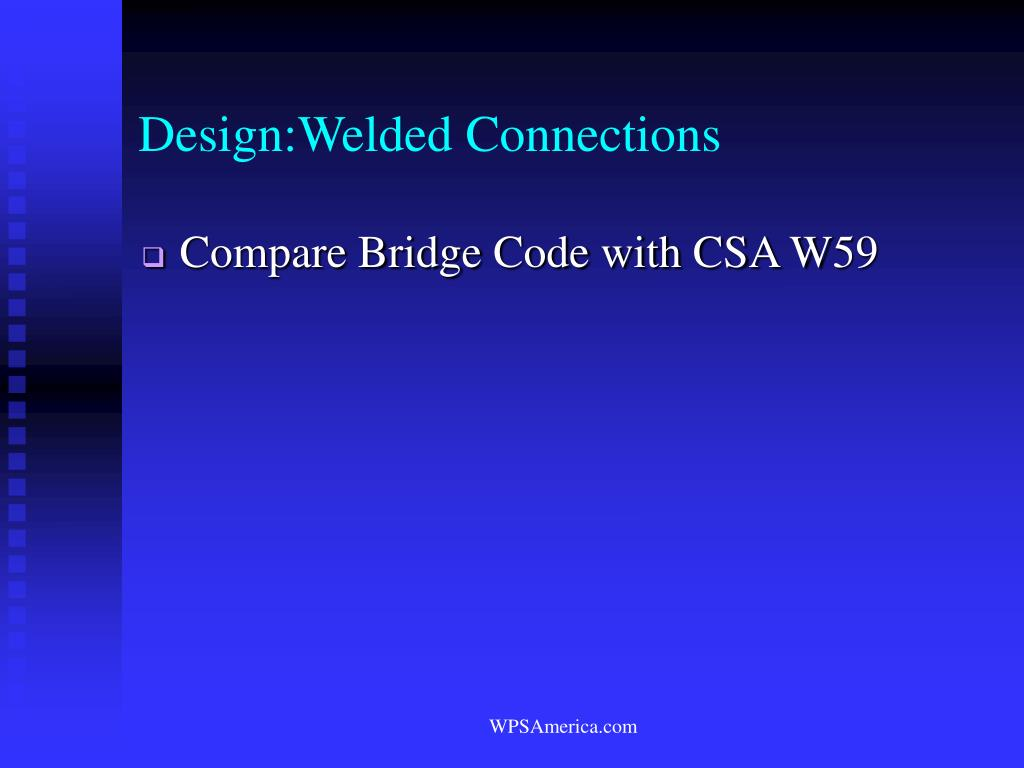 Design:Welded Connections