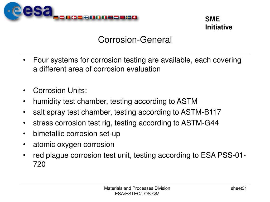 Corrosion-General