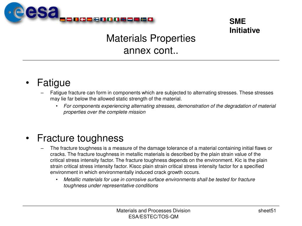 Materials Properties