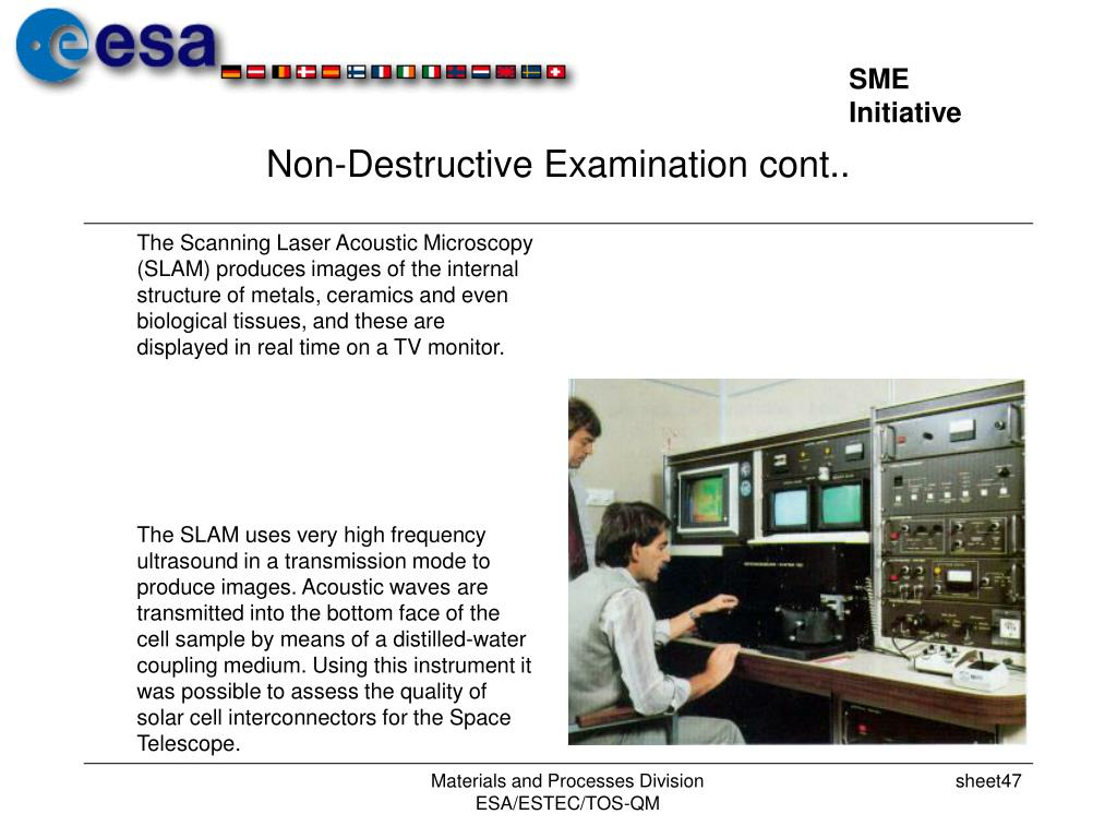 Non-Destructive Examination cont..