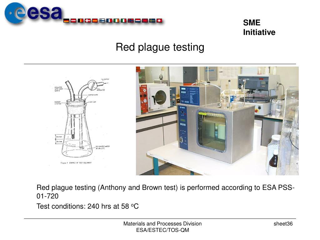 Red plague testing