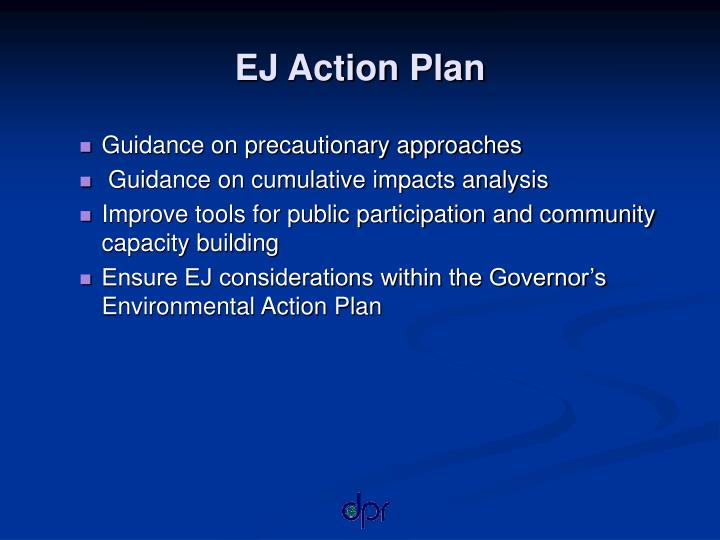 EJ Action Plan