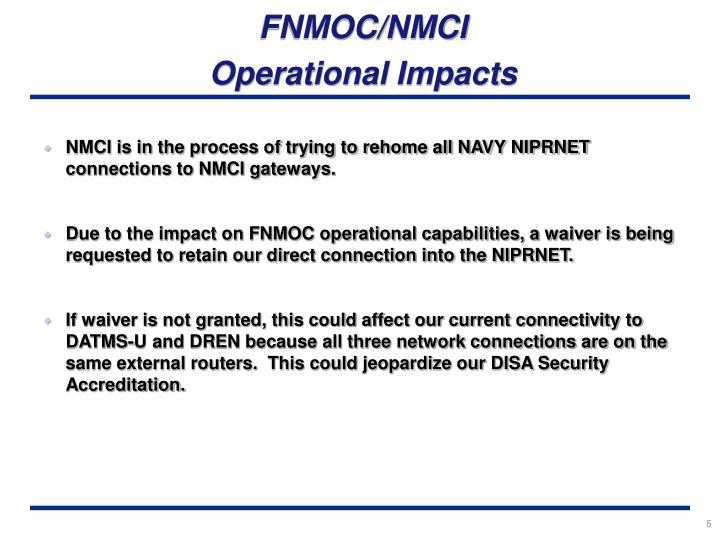 FNMOC/NMCI