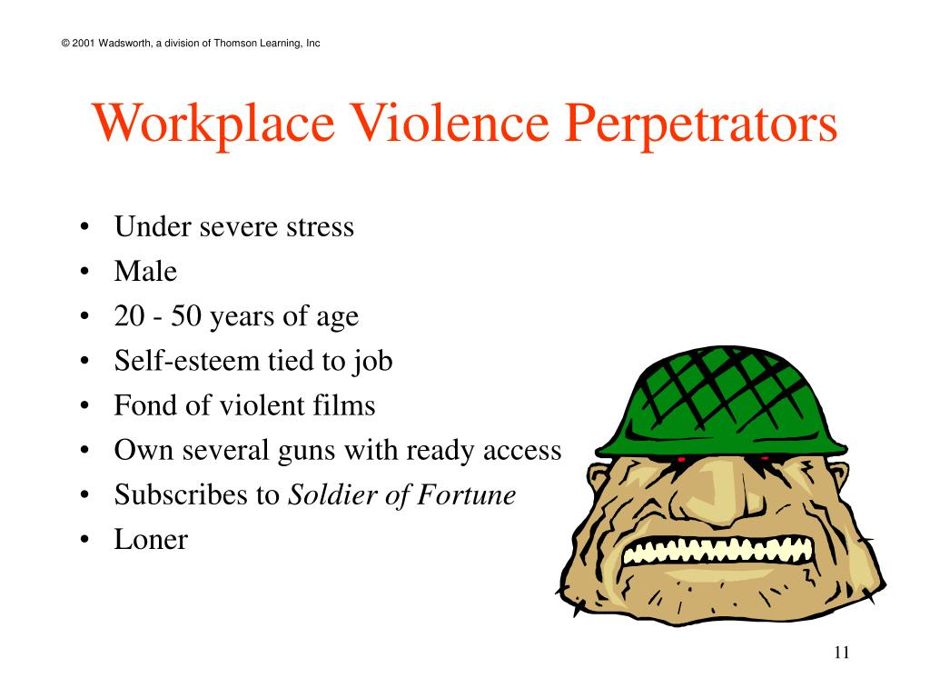 Workplace Violence Perpetrators