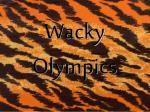wacky olympics