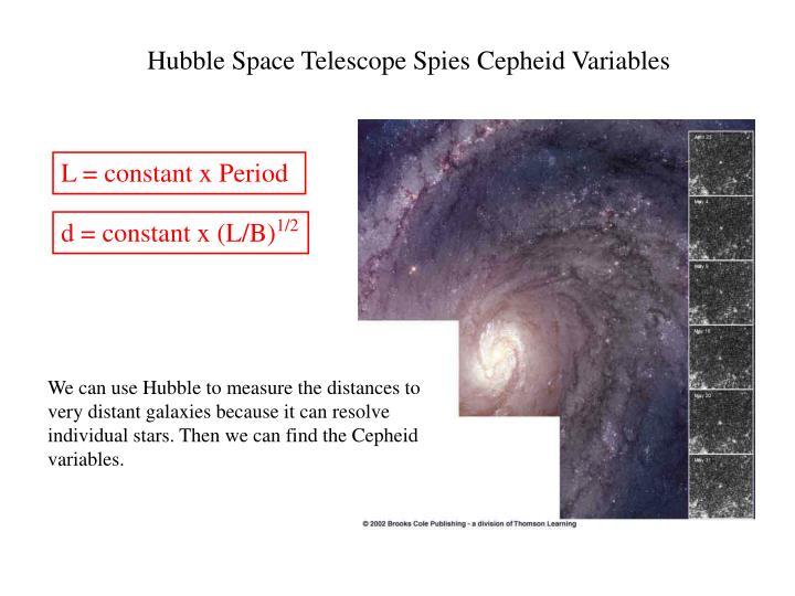 Hubble Space Telescope Spies Cepheid Variables