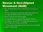 nasser non aligned movement nam
