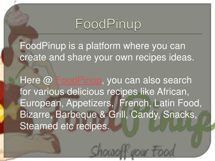 FoodPinup