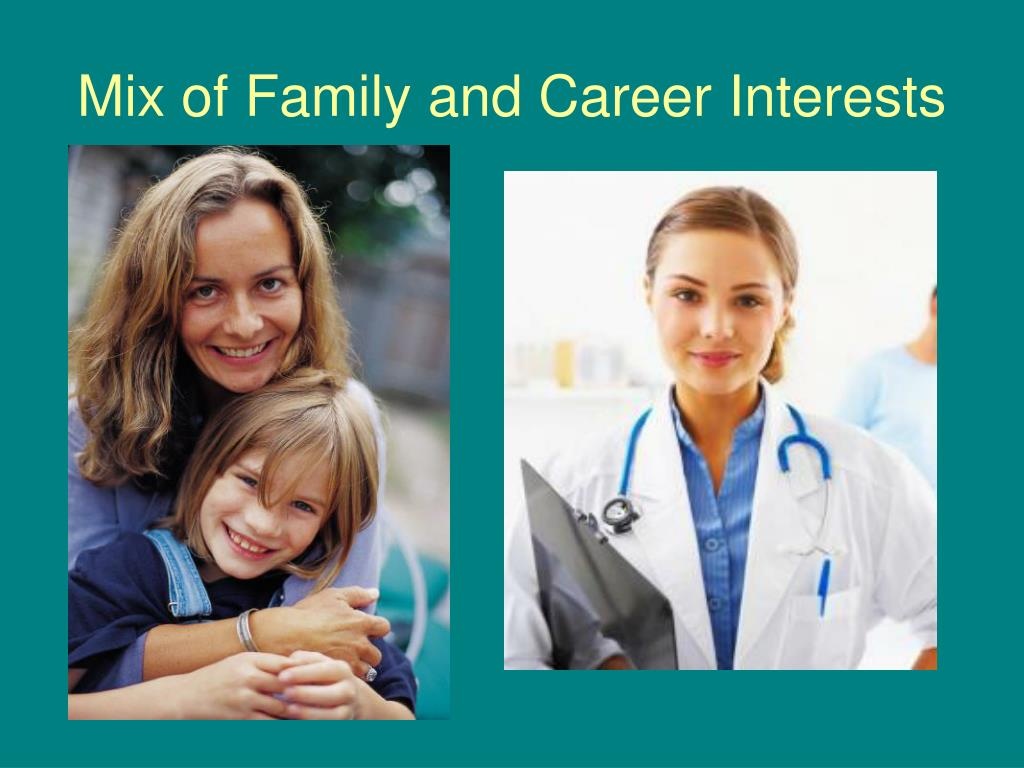 Mix of Family and Career Interests
