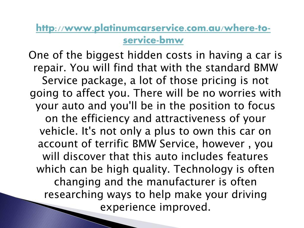 http://www.platinumcarservice.com.au/where-to-service-bmw