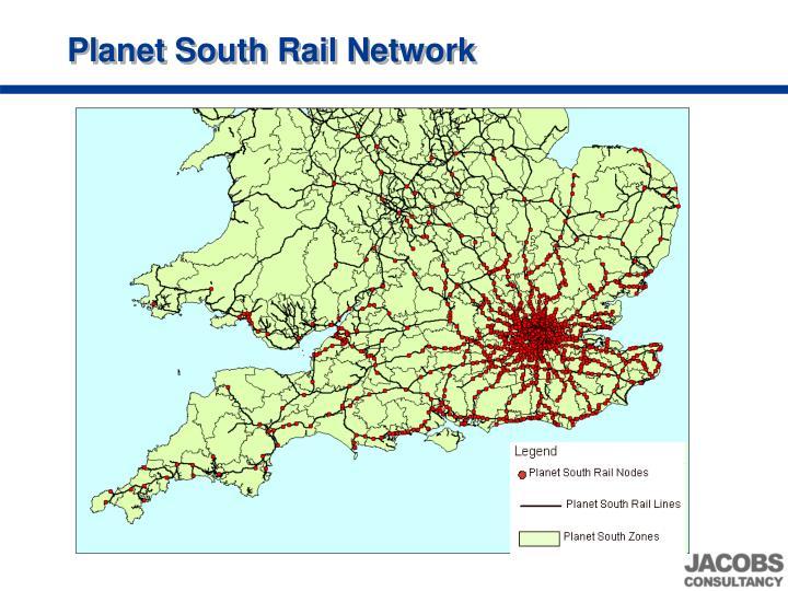 Planet South Rail Network