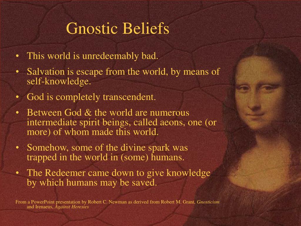 Gnostic Beliefs