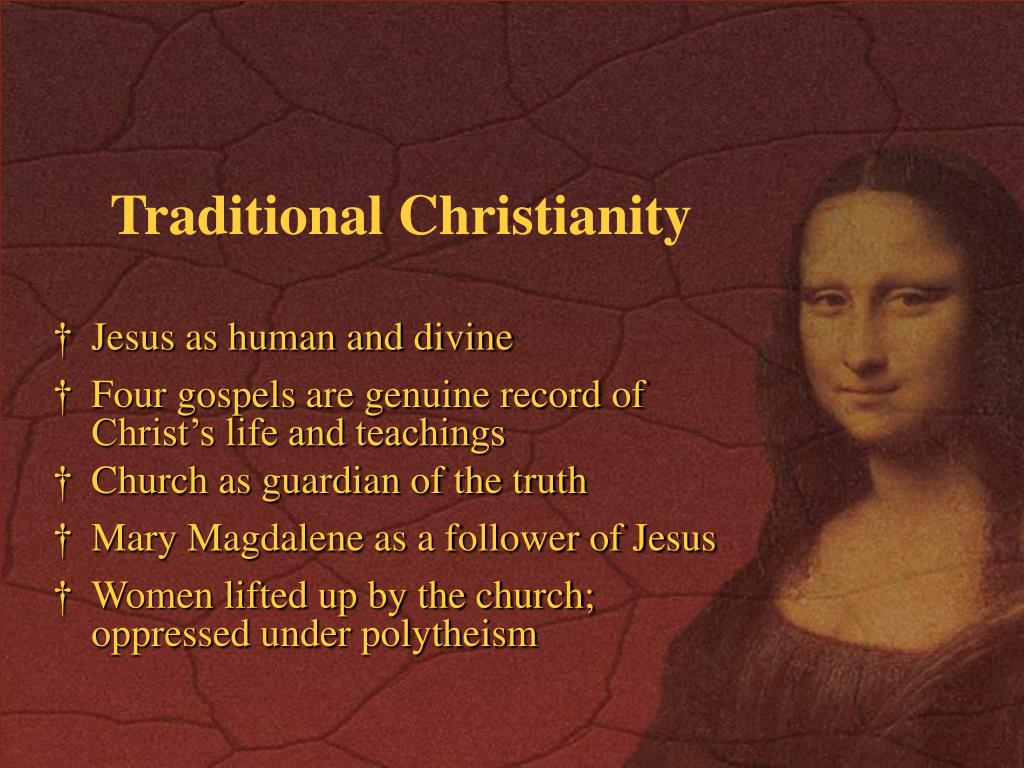 Traditional Christianity