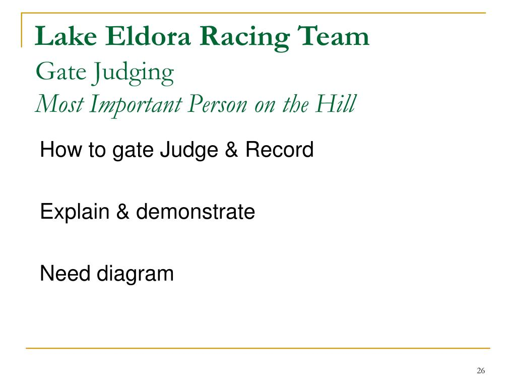 Lake Eldora Racing Team