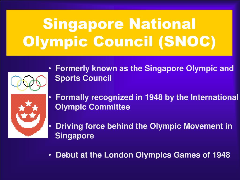 Singapore National Olympic Council (SNOC)