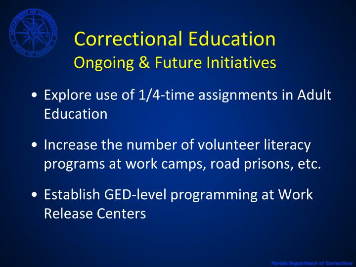 Correctional Education