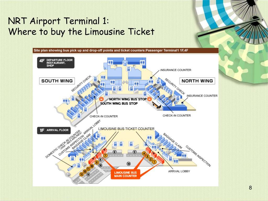 NRT Airport Terminal 1: