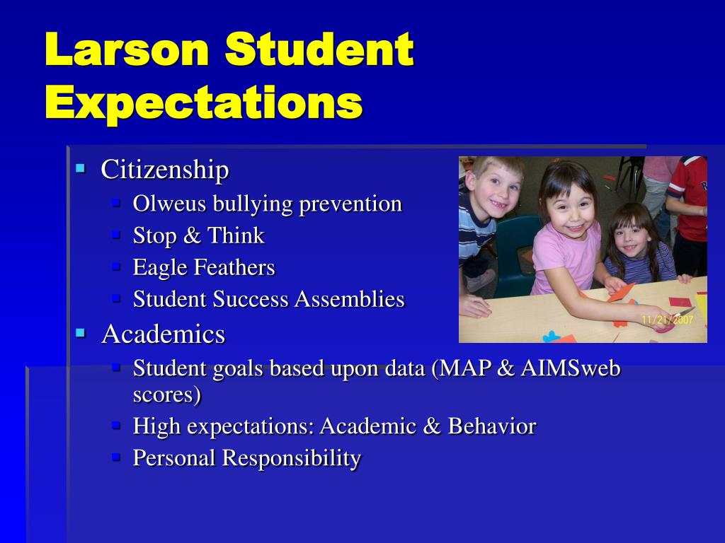 Larson Student Expectations