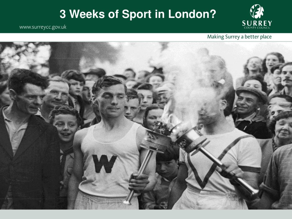 3 Weeks of Sport in London?
