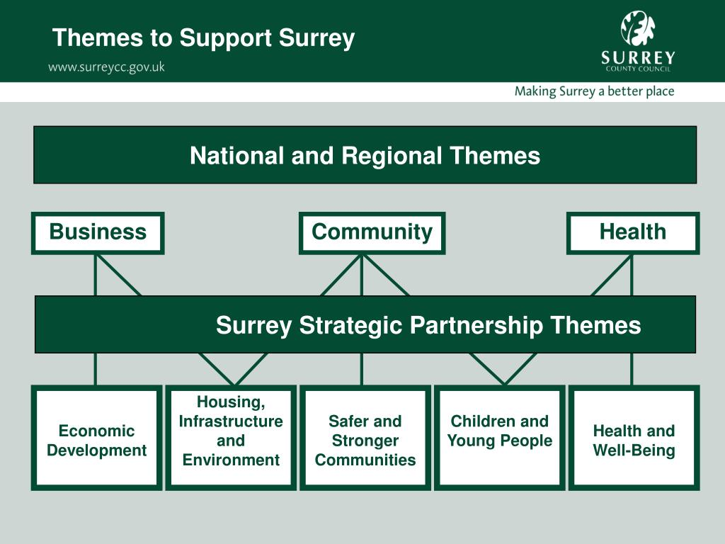 Themes to Support Surrey