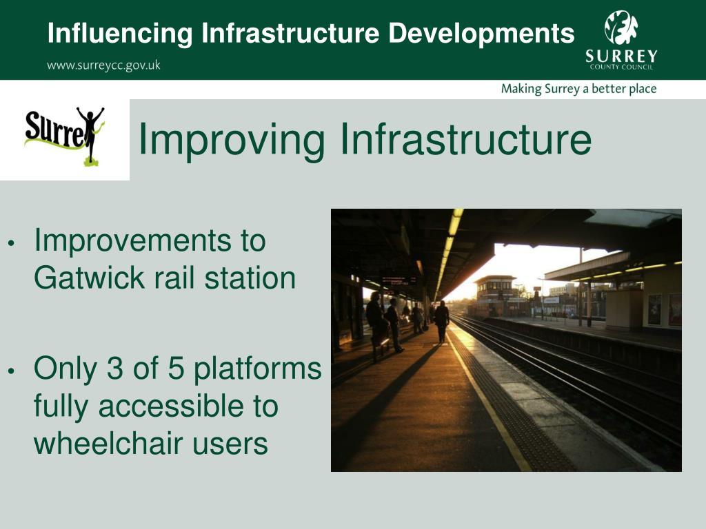 Influencing Infrastructure Developments