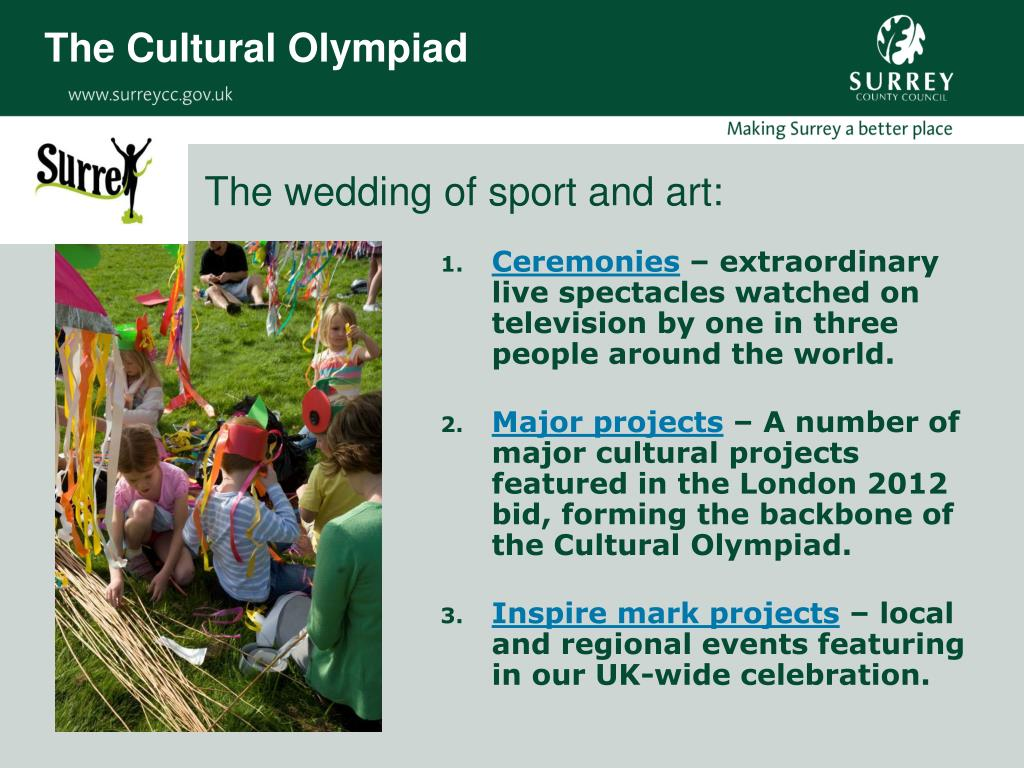 The Cultural Olympiad
