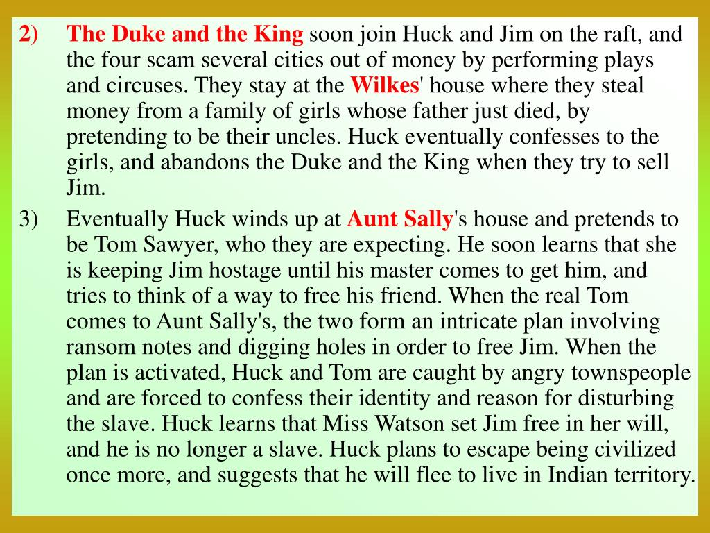 The Duke and the King