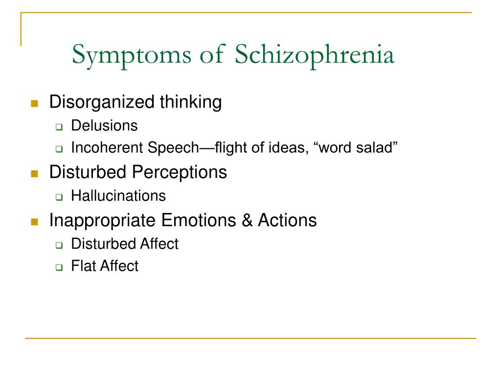 factors that contribute to the development of schizophrenia Environmental factors the etiology of schizophrenia is now thought to  and/or to play a biological role that is likely to contribute to the development of this.