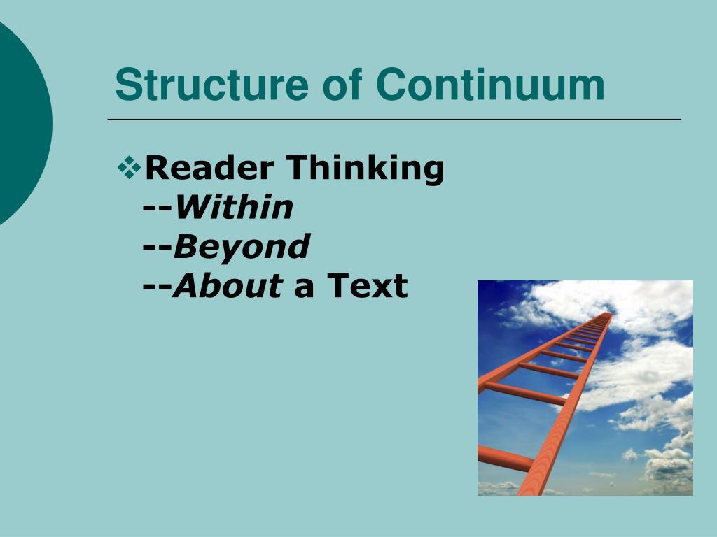 Structure of Continuum