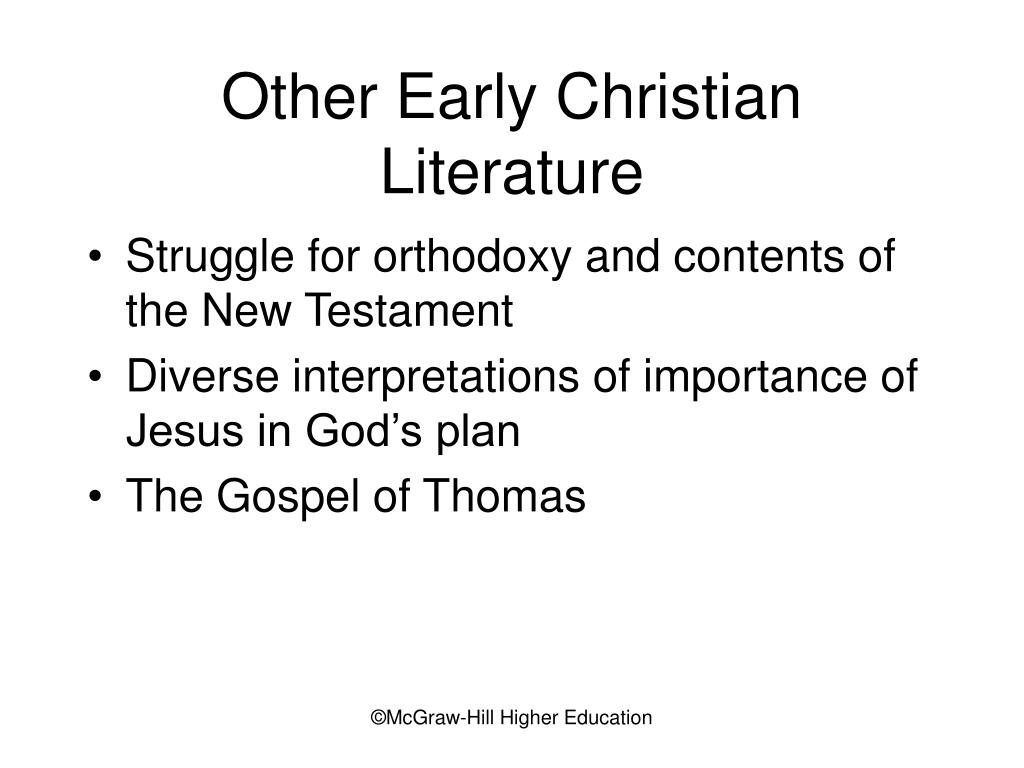 Other Early Christian Literature